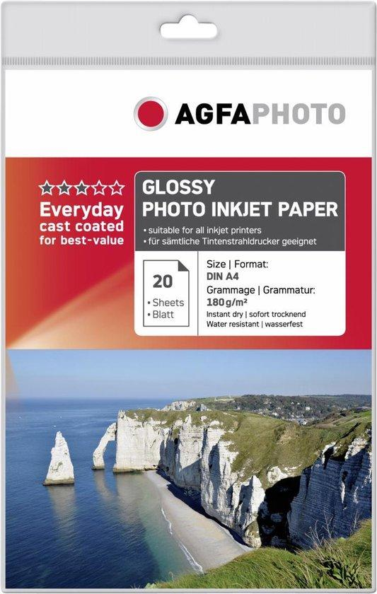 AGFAPHOTO EVERYDAY GLOSSY FOTOPAPIER A4 - in Papier