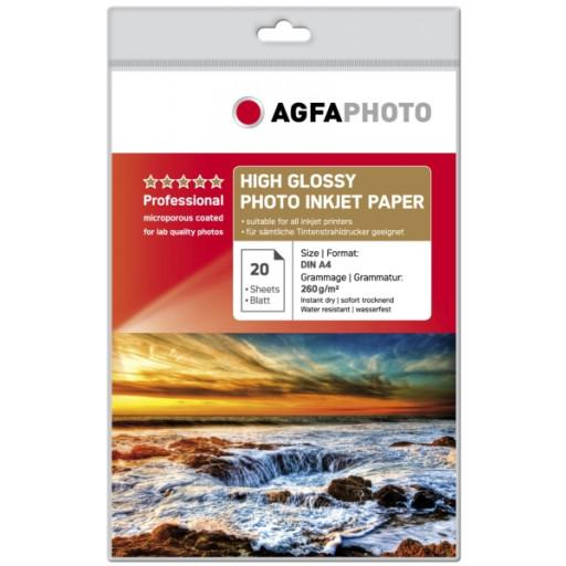 AGFAPHOTO GOLD HIGH GLOSSY FOTOPAPIER A4 - in Papier