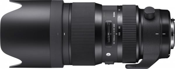SIGMA 50-100MM F1.8 DC HSM ART VOOR CANON - in Camera's & Accessoires