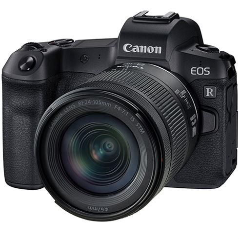 CANON EOS R + RF 24-105MM F4-7.1 IS STM