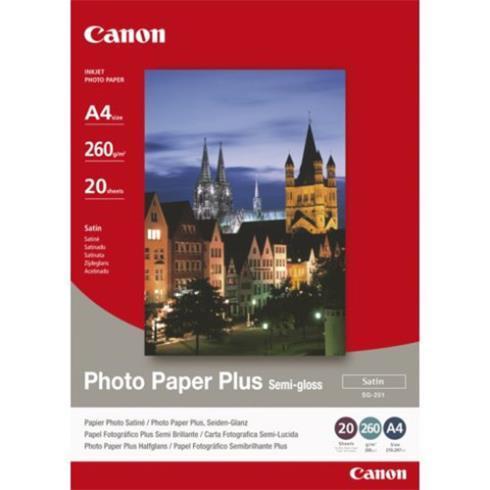CANON PHOTO PAPER PLUS SEMI-GLOSS A4 - in Papier