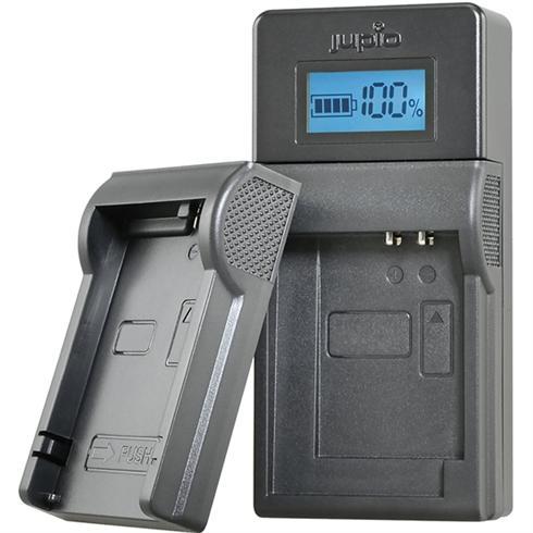 JUPIO USB BRAND CHARGER KIT VOOR PANASONIC PENTAX 3.6V-4.2V ACCU'S