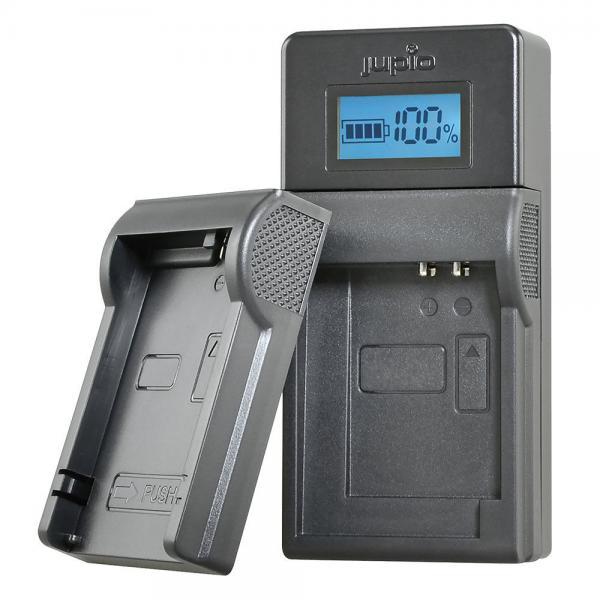 JUPIO USB BRAND CHARGER KIT VOOR PANASONIC PENTAX 7.2V-8.4V ACCU'S