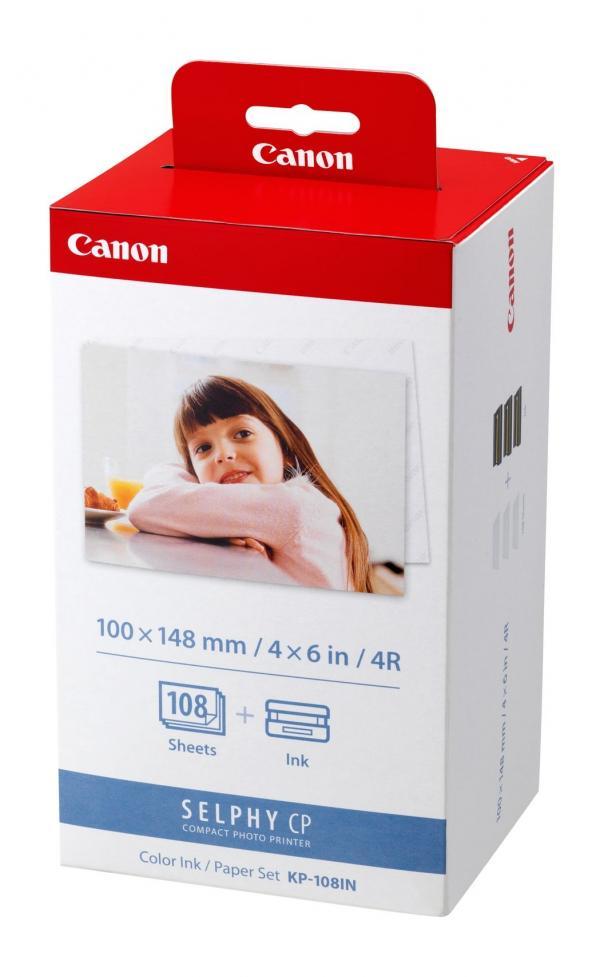 CANON KP-108 INKT CASSETTE PAPER SET - in Papier