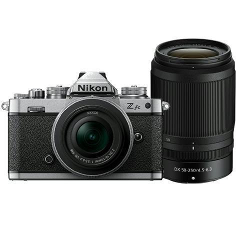 NIKON Z FC + DX 16-50 SILVER + DX 50-250
