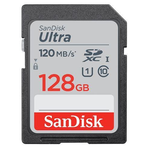 SANDISK SDXC ULTRA 128GB 120MBS CL10