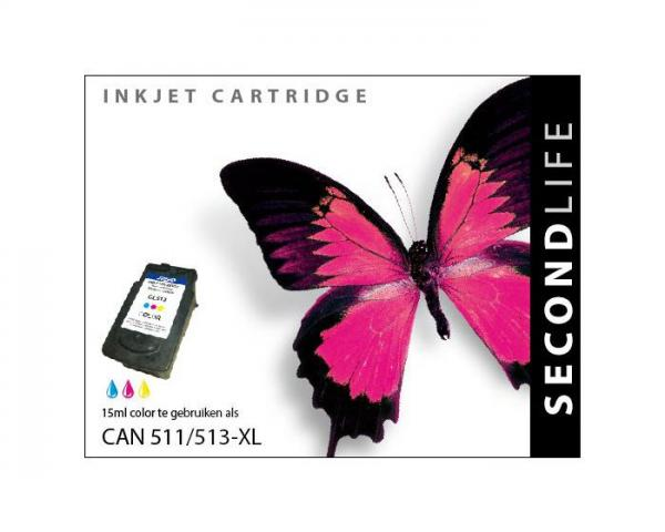SECONDLIFE CANON CL511 513 XL COLOR