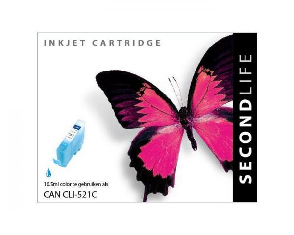 SECONDLIFE CANON CLI521 CYAN