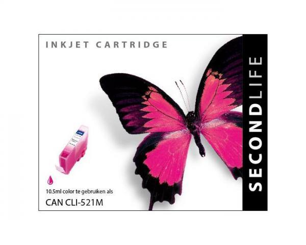 SECONDLIFE CANON CLI521 MAGENTA