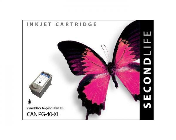 SECONDLIFE CANON PG40 XL BLACK