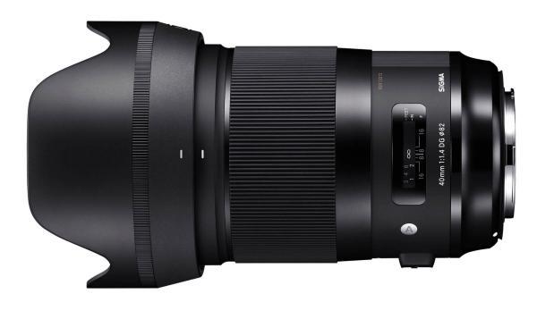 SIGMA 40MM F1.4 DG HSM ART VOOR NIKON FX - in Camera's & Accessoires