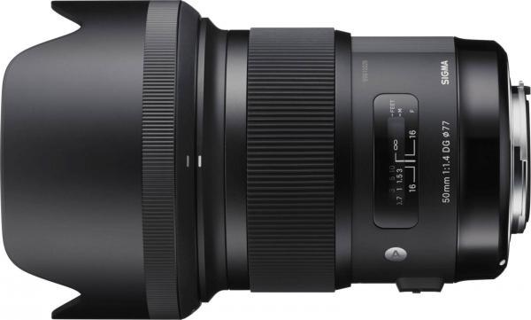 SIGMA 50MM F1.4 DG HSM ART VOOR CANON - in Camera's & Accessoires