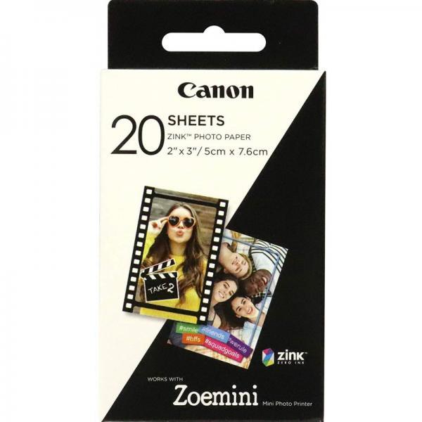 CANON ZOEMINI FOTOPAPIER 20 VELLEN - in Papier